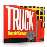 英文原版绘本 Truck 卡车经典系列 凯迪克大奖 平装 正版进口奖 Donald Crews代表作吴敏兰书单 启蒙儿