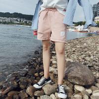 帅中性小码男女短裤三分裤修身休闲号码瘦小个子时尚沙滩