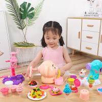 小猪面条机玩具无毒橡皮泥彩泥模具工具套装超轻粘土手工泥儿童礼物