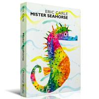 海马先生(艾瑞 卡尔作品) Mister Seahorse [by Eric Carle, Board Book]