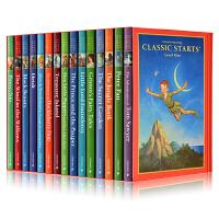 英文原版小说 Classic Starts Series Level 1 世界文学名著学生版 开始读经典系列 15册套装 黑白插图英语读物
