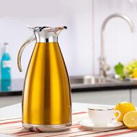 欧式保温壶2L大容量不锈钢水壶家用保温瓶热水瓶企业礼品定制公司年会礼物SN4856