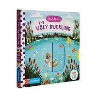丑小鸭英文原版绘本 First Stories The Ugly Duckling 儿童启蒙学习 童话篇 纸板机关操作