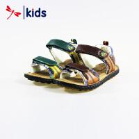 红蜻蜓童鞋夏季男童凉鞋韩版休闲鞋子中大儿童防滑沙滩鞋