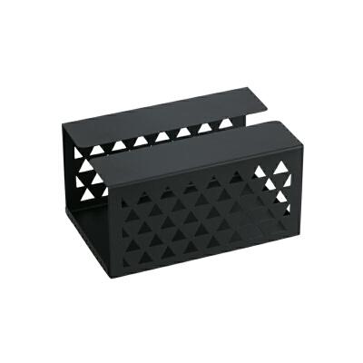 【网易严选年货节 清仓专区】铁艺纸巾盒镂空设计,简约美观