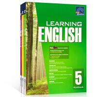 英文原版SAP Learning English Workbook 4-6 新亚英语练习册3本课外趣味学习英语 8-1