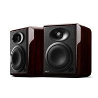 Hivi/惠威 H4 监听木质书架客厅电视有源hifi音响台式电脑2.0音箱