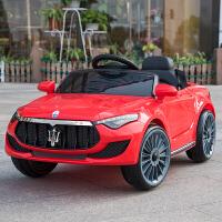 婴儿童电动车四轮1-3带遥控小孩4-5岁汽车男女孩宝宝可坐人玩具车 高配红色:双驱大电+自驾 +遥控