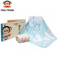 【儿童节大促-快抢券】TBW3177106大嘴猴(Paul Frank) 婴童 纱布空调被宝宝纯棉被子