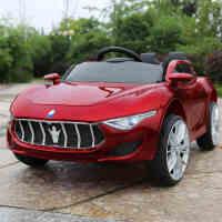 婴儿童电动车带摇摆四轮双驱动男女小孩带遥控可坐人玩具汽车童车