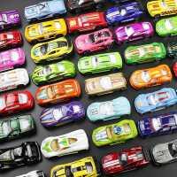 儿童玩具合金小汽车模型仿真车模套装各类金属车迷你赛车警车男孩