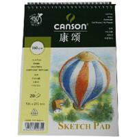 法国CANSON康颂素描本 160g 速写本 素描画簿 16K 19.5x27cm 20张