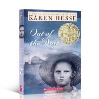 英文原版小说 Out of the Dust 风儿不要来 Scholastic 1998年纽伯瑞金奖 纽约公共图书馆推