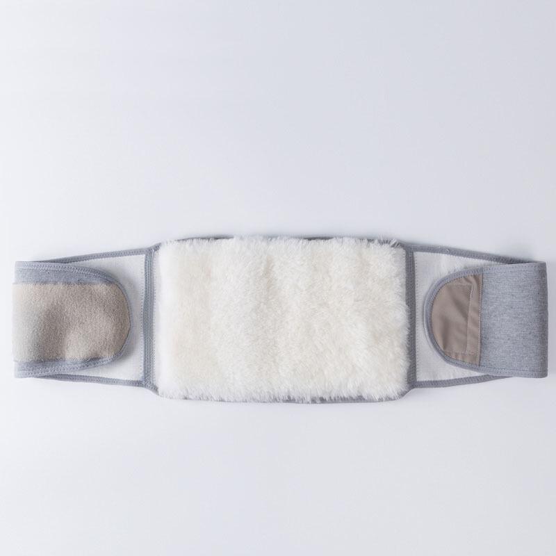 羊毛护腰带男女暖胃护胃暖宫护肚子冬季腹部腰围腹带皮毛一体护腰
