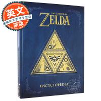 塞尔达传说百科全书 游戏艺术设定集 英文原版 The Legend of Zelda Encyclopedia 任天堂