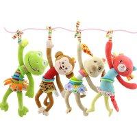 【春季新品】可爱儿童毛绒玩具 婴儿玩具挂件婴儿车悬挂件公仔床铃安抚毛绒玩具