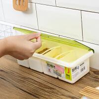 翻盖塑料调味盒盐罐瓶调料盒子套装家用组合装收纳盒厨房用品