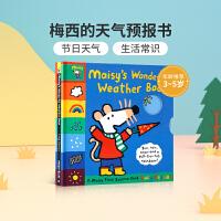 英文原版绘本Maisy's Wonderful Weather Book 小鼠波波 不同天气表达 入门启蒙翻翻书