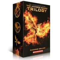 【全店300减100】进口英文原版正版小说 The Hunger games Trilogy 饥饿游戏/燃烧的女孩/嘲笑