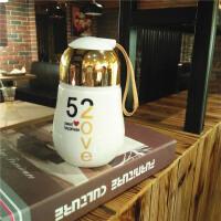 生日礼物女生送女友创意实用简约520陶瓷保温水杯SN0280