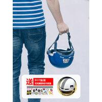 晓安电动车头盔3c认证男女轻便式安全帽挡风防晒护目镜摩托车头盔