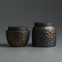 陶瓷茶叶罐复古普洱茶仓醒茶罐 功夫茶具存茶罐