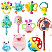 婴儿玩具3-6-12个月新生儿摇铃0-1岁宝宝早教幼儿手摇铃铛拨浪鼓