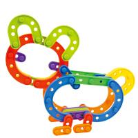 扣拼插拼搭 儿童桌面塑料积木玩具3岁以上
