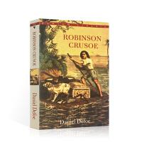 【全场300减100】鲁滨逊漂流记英文原版小说 Robinson Crusoe 笛福世界经典名著小说 中世纪的荒野求生小