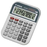 Canon佳能WS-1212H台式计算器 商务办公会计理财中号计算机