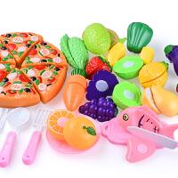 女孩厨房仿真切菜 儿童过家家切水果玩具购物推车蔬菜切切看乐宝宝