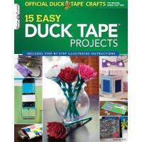 【预订】The Official Duck Tape Craft Book, Volume 1: 15 Easy