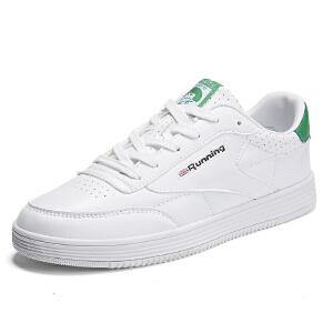 西瑞新款板鞋男士绿尾鞋男鞋小白鞋青年潮鞋MLD-858