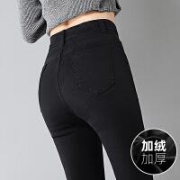 Lee Cooper秋冬新款弹力女装裤紧身个性显瘦小脚长裤牛仔裤女