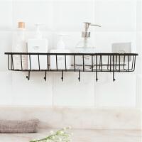 置物架浴室储物架铁艺壁挂收纳篮免打孔调料架厨房用品用具小百货