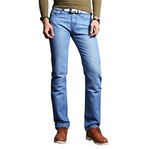 1号牛仔  时尚男款牛仔裤休闲百搭男长裤