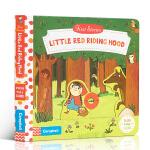 顺丰发货 英文原版进口童书 First Stories系列 Little Red Riding Hood 小红帽 机关