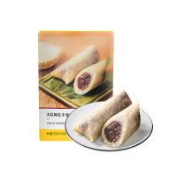 【网易严选双11狂欢】大红袍红小豆赤沙粽 130克*4只