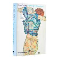 Egon Schiele:Drawings Watercolours埃贡・席勒素描和水彩画 席勒画册作品集
