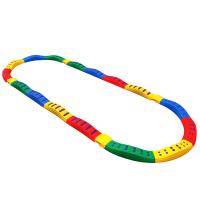 室内户外玩具 感统训练器材幼儿园脚踩触觉平衡板儿童独木桥平衡木