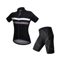 骑行服套装男短袖 夏季山地车自行车透气吸湿排汗速干单车服
