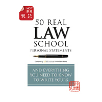 英文原版50 Real Law School Personal Statements,50篇真正法学院的个人陈述