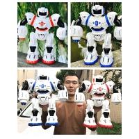 机器人玩具遥控机械战警学习早教电动儿童感应机器人