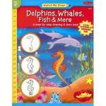 【预订】Dolphins, Whales, Fish & More [With Drawing PadWith