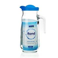 Glasslock凉水壶凉水杯子1090ml 盖朗玻璃冷水壶韩国保鲜玻璃水壶水瓶