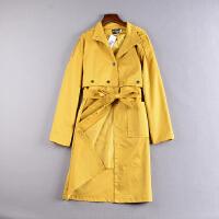 C0K@2 1.2斤冬韩版翻领外套中长半身裙两件套套装YQ