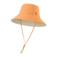 蕉下穹顶系列双面防晒渔夫帽百搭大帽檐遮脸太阳帽防紫外线