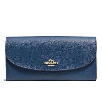【当当自营】蔻驰(COACH)时尚新款女士按扣手拿包卡包钱包女  F57978