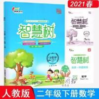 2020新版 智慧树 数学二年级下 人教版 成风文化 内附试卷+答案