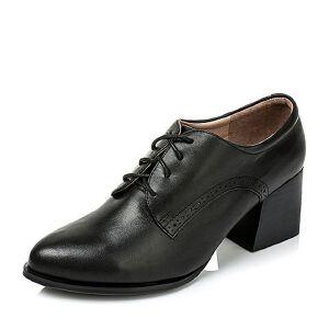 Tata/他她专柜同款小牛皮女皮鞋FE124CM6